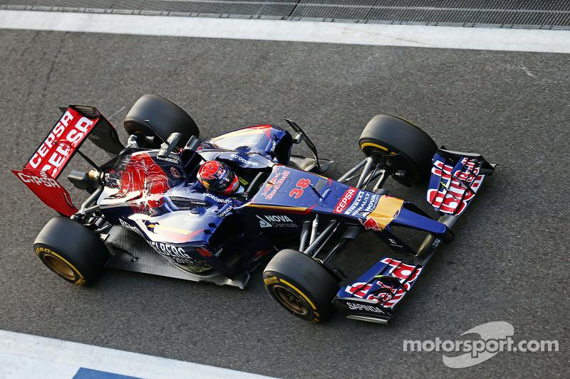 Max Verstappen, Scuderia Toro Rosso STR9 piloto de pruebas