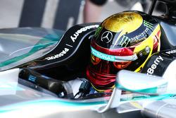 Pascal Wehrlein, Mercedes AMG F1 W05, Testfahrer