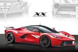 法拉利LaFerrari XX设计概念