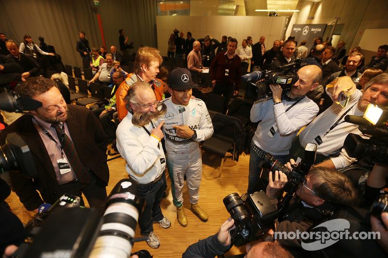 Horst Lichter, Lewis Hamilton