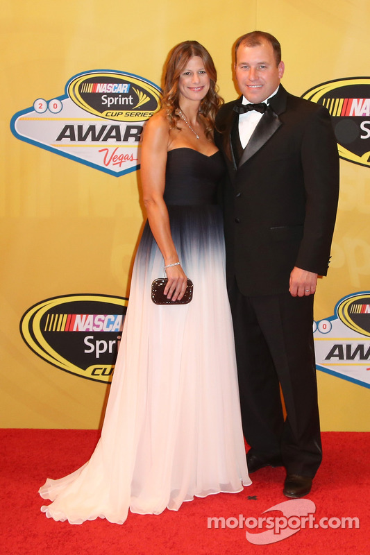 Ryan Newman y su esposa Krissie