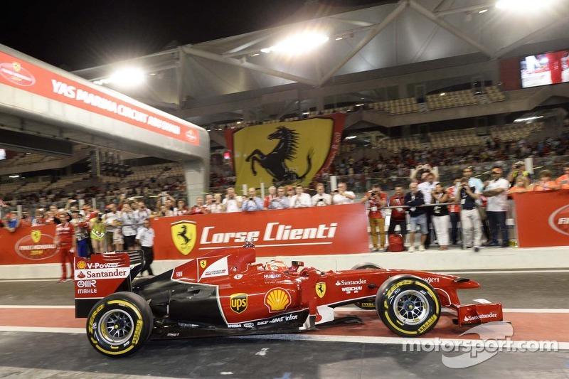 Ferrari F1 Kimi Raikkonen tarafından sürülüyor
