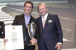 Porsche Cup 2014: Jaap van Lagen avec Wolfgang Porsche