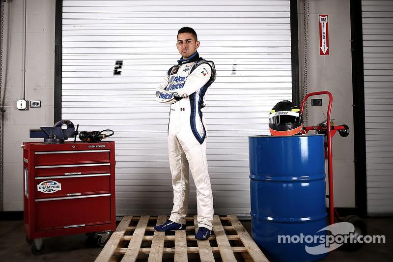 El campeón de NASauto México Series, Abraham Calderon