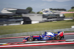 Dani Pedrosa dans une Red Bull aux couleurs de Toro Rosso