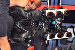 Daniel Ricciardo, Red Bull Racing RB14's engine intake plenum