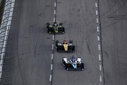 Takuma Sato, Rahal Letterman Lanigan Racing Honda, James Hinchcliffe, Schmidt Peterson Motorsports Honda, Charlie Kimball, Carlin Chevrolet