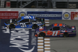 Denny Hamlin, Joe Gibbs Racing, Toyota Camry FedEx Freight Ryan Newman, Richard Childress Racing, Chevrolet Camaro Okuma