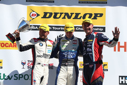 Colin Turkington, WSR BMW, Ash Sutton, Team BMR Subaru Levorg and Tom Ingram, Speedworks Motorsport Toyota Avensis