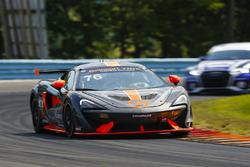 #76 Compass Racing, McLaren GT4, GS: Matt Plumb, Paul Holton