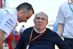 Paddy Lowe, Williams Shareholder and Technical Director and Frank Williams, Williams Team Owner