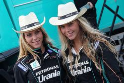 Encantadoras chicas del Team de Rooy