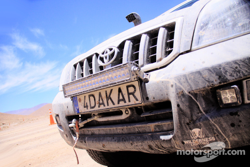 Detail plat Dakar