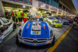 #10 GTRussian, Mercedes SLS AMG GT3