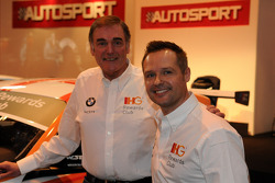 Andy Priaulx and WSR Team boss Dick Bennetts