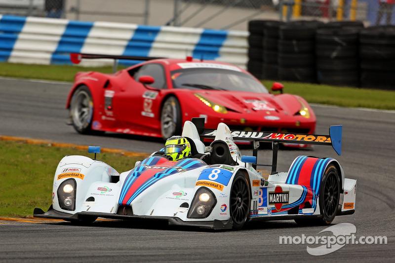 #8 Starworks Motorsport ORECA FLM09: Mirco Schultis, Renger van der Zande, Alex Popow, Mike Hedlund, Enrique Bernoldi