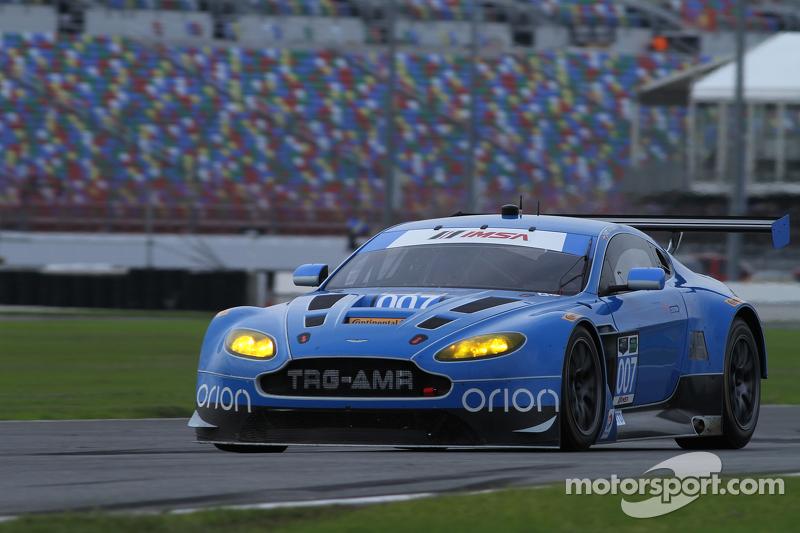 #007 TRG-AMR Aston Martin V12 Vantage: Brandon Davis, Christoffer Nygaard, Christina Nielsen, James Davison