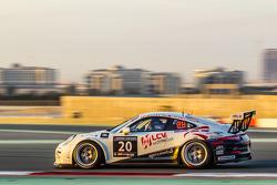 #20 MRS GT-Racing, Porsche 991 Cup: Manuel Nicolaidis, Olivier Baharian, Thierry Blaise, Johnson Huang