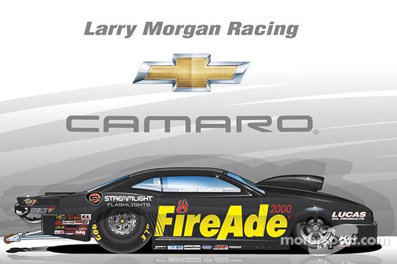 Präsentation Larry Morgan Racing