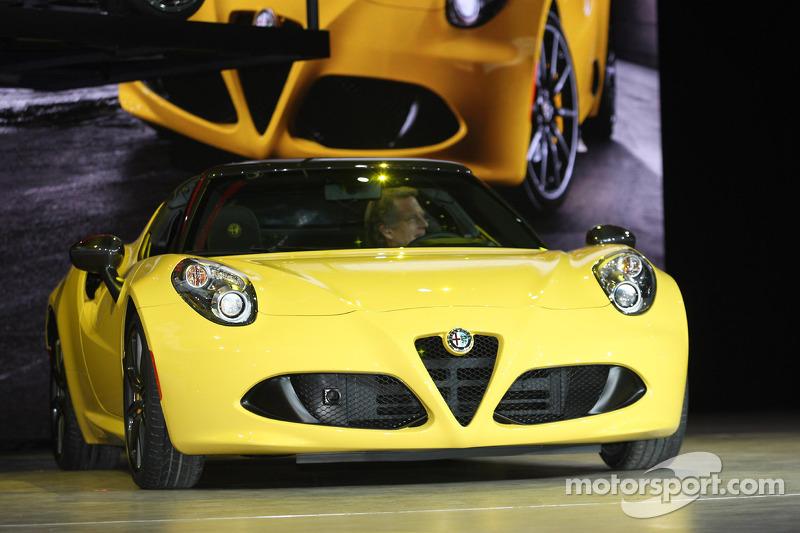 Alfa Romeo 4C Spyder