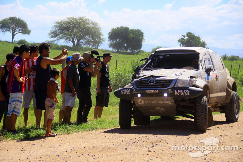 #339 Toyota: Benediktas Vanagas, Andrei Rudnitski in Schwierigkeiten