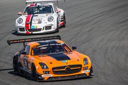 #96 Mike Racing, Mercedes SLS AMG GT3: Michael Chua, Joseph Chua, Rick Cheang