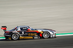 #6 Gravity Racing International, Mercedes SLS AMG GT3: Vincent Radermecker, Eric Lux, Gérard Lopez, Loris de Sordi, Andy Ruhan