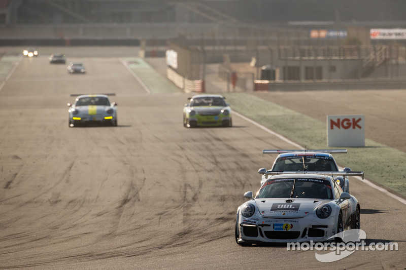 #20 MRS GT-Racing, Porsche 991 Cup: Manuel Nicolaidis, Olivier Baharian, Thierry Blaise, Johnson Huang