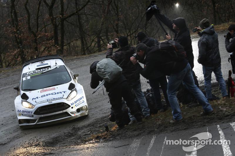 Ott Tänak und Molder Raigo, M-Sport, Ford Fiesta WRC