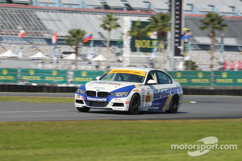 #81 BimmerWorld Racing BMW 328i: Andrie Hartanto, Tyler Cooke