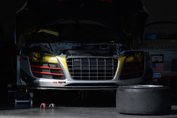 #45 Flying Lizard Motorsports, Audi R8 LMS: Markus Winkelhock, Robert Thorne, Satoshi Hoshino, Tomonobu Fujii