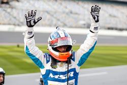 Oswaldo Negri Jr., Michael Shank Racing Aero Ligier JS PS2 Honda HPD, comemora