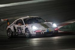 #26 Black Falcon, Porsche 991 Cup: Saud Al Faisal, Anders Fjordbach, Keita Sewa, Andreas Weishaupt, Patrick Huisman