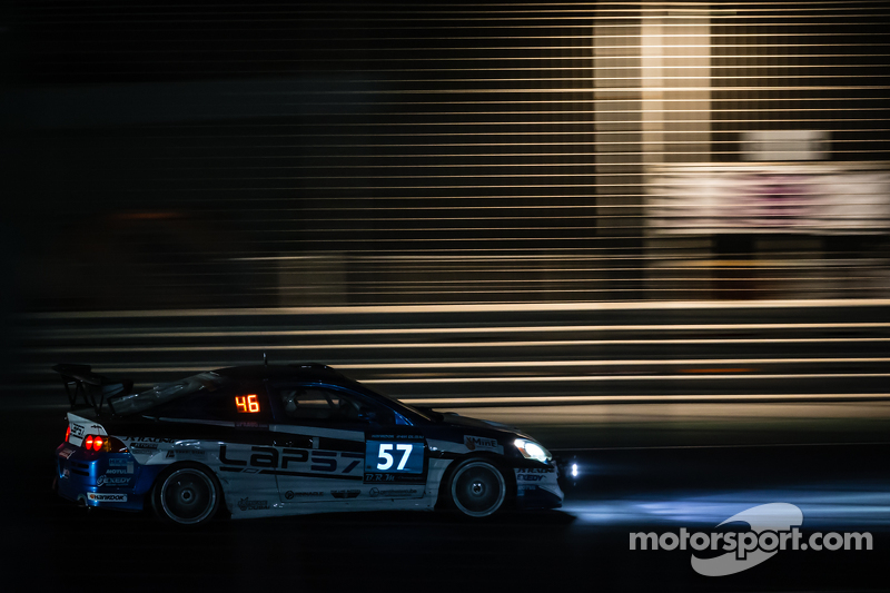 #57 LAP57 Racing Honda Integra Type R: Mohammed Al Owais, Abdullah Al Hammadi, Nader Zuhour, Junichi Umemoto, Rupesh Channake
