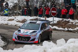 Thierry Neuville和Nicolas Gilsoul,现代i20 WRC,现代车队