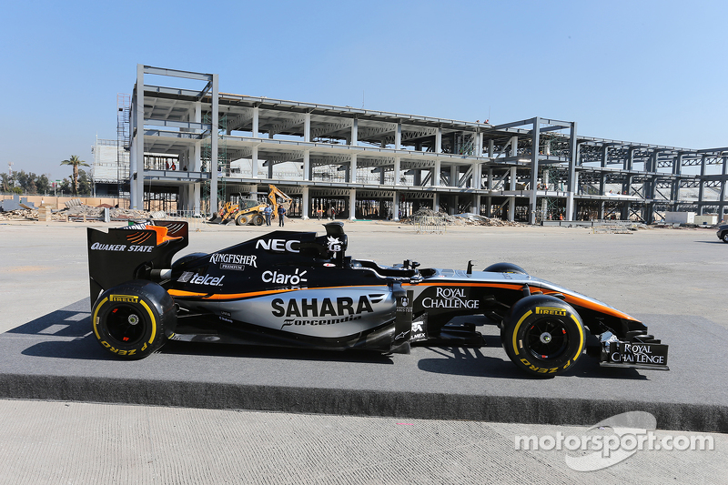 Sahara Force India F1 Team, neues Design