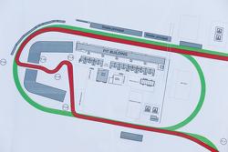 Dettagli della piantina del Circuito