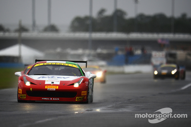 #1 Ferrari of Houston, Ferrari 458TP: Ricardo Perez