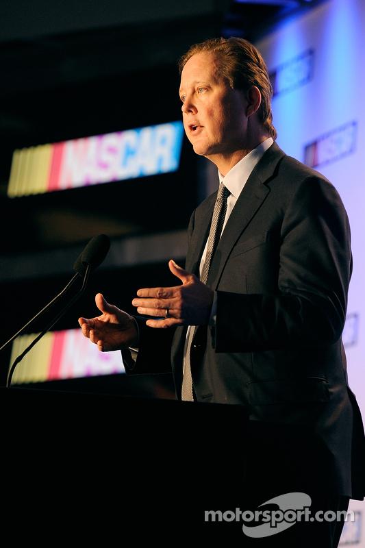 Brian France, Geschäftsführer und Vorsitzender von NASCAR