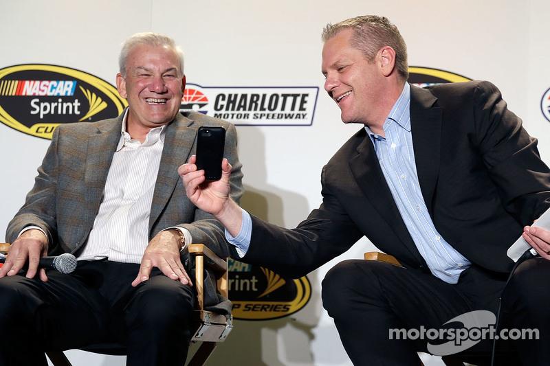 Dale Jarrett und Marty Snider