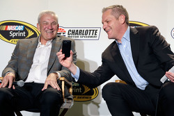 Dale Jarrett and Marty Snider
