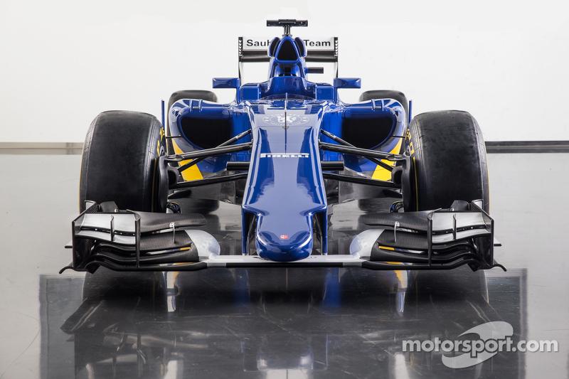Der neue Sauber C34-Ferrari