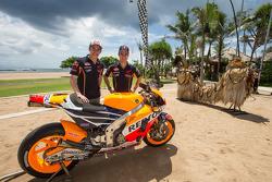 Dani Pedrosa und Marc Marquez, Repsol Honda Team
