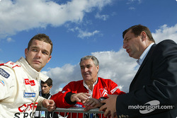 Sébastien Loeb and Guy Fréquelin
