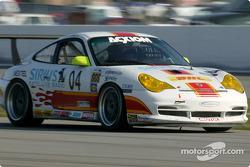 La Porsche GT3 Cup n°04 du Grease Monkey Racing (Gene Sigal, Harrison Brix)