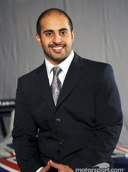 His Highness Sheikh Maktoum Hasher Maktoum Al Maktoum (UAE) CEO and President of A1 Grand Prix