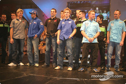 Riders on stage
