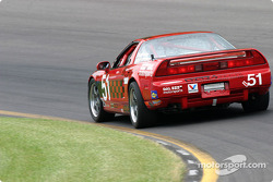 L'Acura NSX n°51 DAL Motorsports : Pete Halsmer, Robert Morrison, Vaughn Duarte