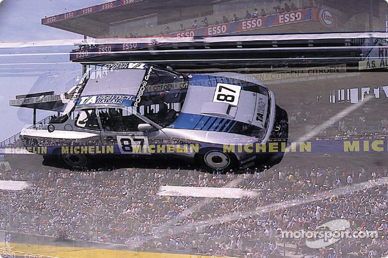 #87 B.F. Goodrich Porsche 924 GTR: Jim Busby, Doc Bundy
