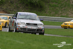 #4 Istook / Aines Motorsport Group Audi S4: Gary Sheehan, Ray Bailey
